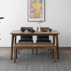 [파비안브라운] A형 4인용식탁/테이블 세트_(1464121)
