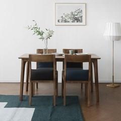 [파비안브라운] A1형 4인용식탁/테이블 세트_(1464120)
