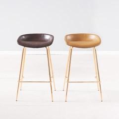 [데코마인] 오라 로즈골드 바체어 홈바의자 카페의자