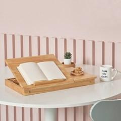 컴포 원목 접이식테이블 (각도조절)