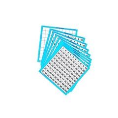 러닝리소스)LER0375 1-100숫자판(10개/코팅지)/수연산_(1648777)