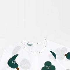 [메르베] 나무친구들 신생아 우주복/북유럽아기옷_여름_(1399227)