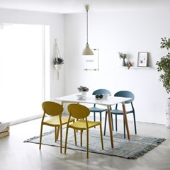 [폴앤코코] 원형 인테리어 디자인 의자_(1011799)