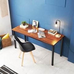[데코마인] 퍼기 스틸책상 1500 철제책상 원목테이블