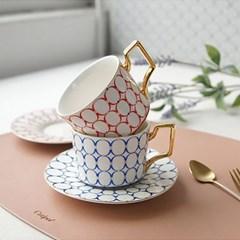 이사벨 골드 커피잔 2color