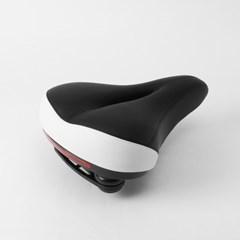 키더블 LED 자전거 안장(화이트)/led안장 전립선안장