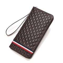 [Bison Denim] 엠보패턴 클러치 장지갑 N8198/핸드폰지갑/손지갑