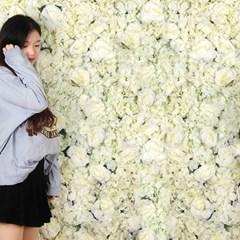 플라워월 조화 꽃벽 / 월데코 조화벽장식