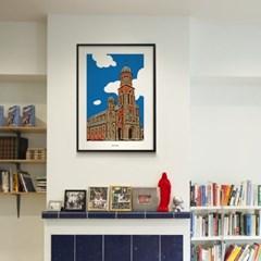 전주 전동 성당 M 유니크 인테리어 디자인 포스터