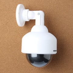 LED 아이존 F1 모형 감시 카메라(돔형)/모형CCTV 보안