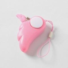 날개 호신용 경보기(핑크)/여성 아동 호신용품