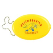 [Greetinglife] CHALKBOY_RUBBER COIN MINI POUCH_옐로우