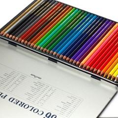 (문화) 36색 고급 색연필(틴)/학원판촉용 어린