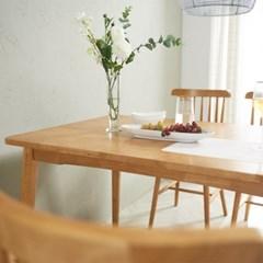 소이 고무나무원목 4인 식탁 (의자미포함)_(1173725)
