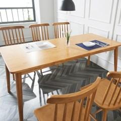 소이 고무나무원목 6인 식탁 (의자미포함)_(1173724)