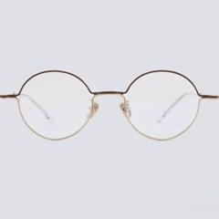 IAN gold-brown 안경테 튼튼한 돋보기 아동 색_(1937801)
