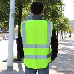 고급형 특수반사 형광 안전복/안전조끼 안전작업복