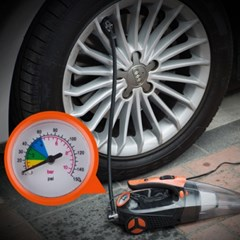 LED 라이트 강력 헤파필터 차량용진공청소기
