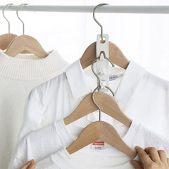 옷걸이에 연결해서 사용하는 다용도 3P 걸이 4개세트