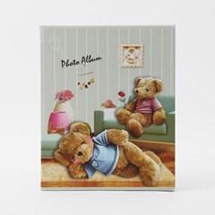 곰인형 포토앨범(4x6) / 50매 포켓식 사진첩