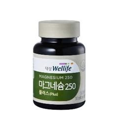 대상웰라이프 프렌즈 마그네슘 250 플러스 (60정)_(1083850)