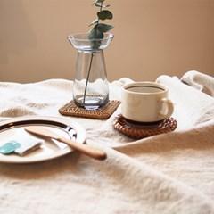 라탄코스터 (컵받침)