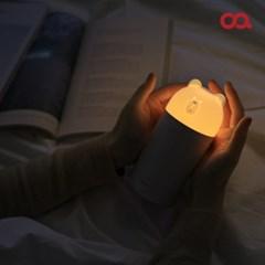 오아 라인프렌즈 브라운 미니 무드등 USB 가습기