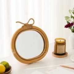 백설공주의 사과 등나무 벽거울 / 예쁜 화장대 책상거울