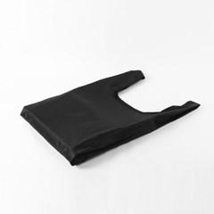 포켓 접이식 시장가방(블랙)/휴대용 장바구니 판촉물
