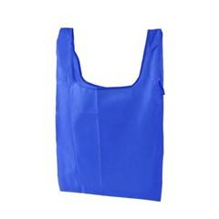 포켓 접이식 시장가방(블루) /휴대용 장바구니 판촉물