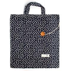 꽃무늬 접이식 보조가방/신발가방 시장가방 캔버스백