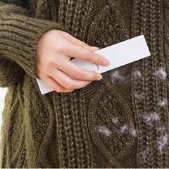 접이식 먼지제거 브러쉬 / 휴대용 옷솔