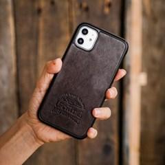 nraw 906BP 논슬립 레더 케이스 (아이폰11)