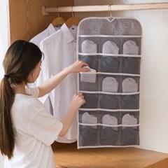 홈러브 30칸 수납걸이 / 옷장정리 벽걸이정리함