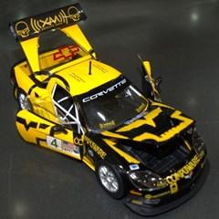 브라고 1:24 레이스 쉐보레 콜벳 C6R/Corvette/모형