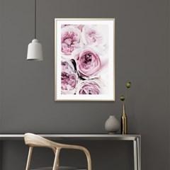 라네즈 모란 꽃 액자 보테니컬 그림 인테리어 포스터