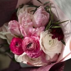 꽃선물 스위트 꽃다발 (생화, 전국택배)