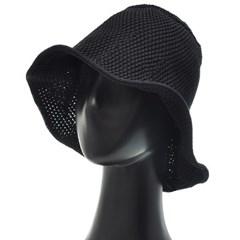 [플릭앤플록]IJU05.니트 와이어챙 여성 벙거지 모자