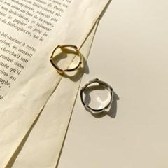 심플 지그재그 반지