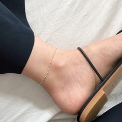 [92.5 silver] Jujube anklet