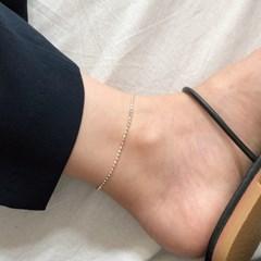 [92.5 silver] Birthmark anklet