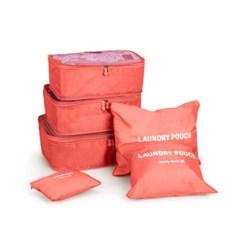 에이티 캐리어 파우치 6p(핑크) / 여행용파우치