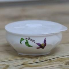 제비꽃 도자기 밀폐찬통(소)