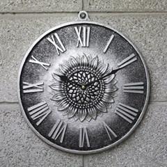저소음해바라기로마벽시계