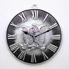 저소음부엉이로마벽시계