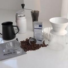 드립핑크 홈카페 커피핸드드립기구 모두세트_(147180)