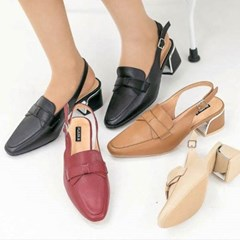 kami et muse Middle heel ribbon sling back_KM19w337