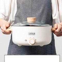 바이마르 쉐프 전기 멀티쿠커 전기쿠커 전기냄비 3L