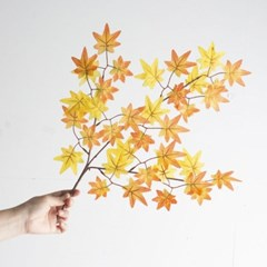 [데코봉봉]단풍잎 가지 모형