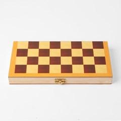 접이식 원목 체스/보드게임 가정 패밀리 고급 체스판
